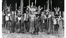 The Dayak War Leaders